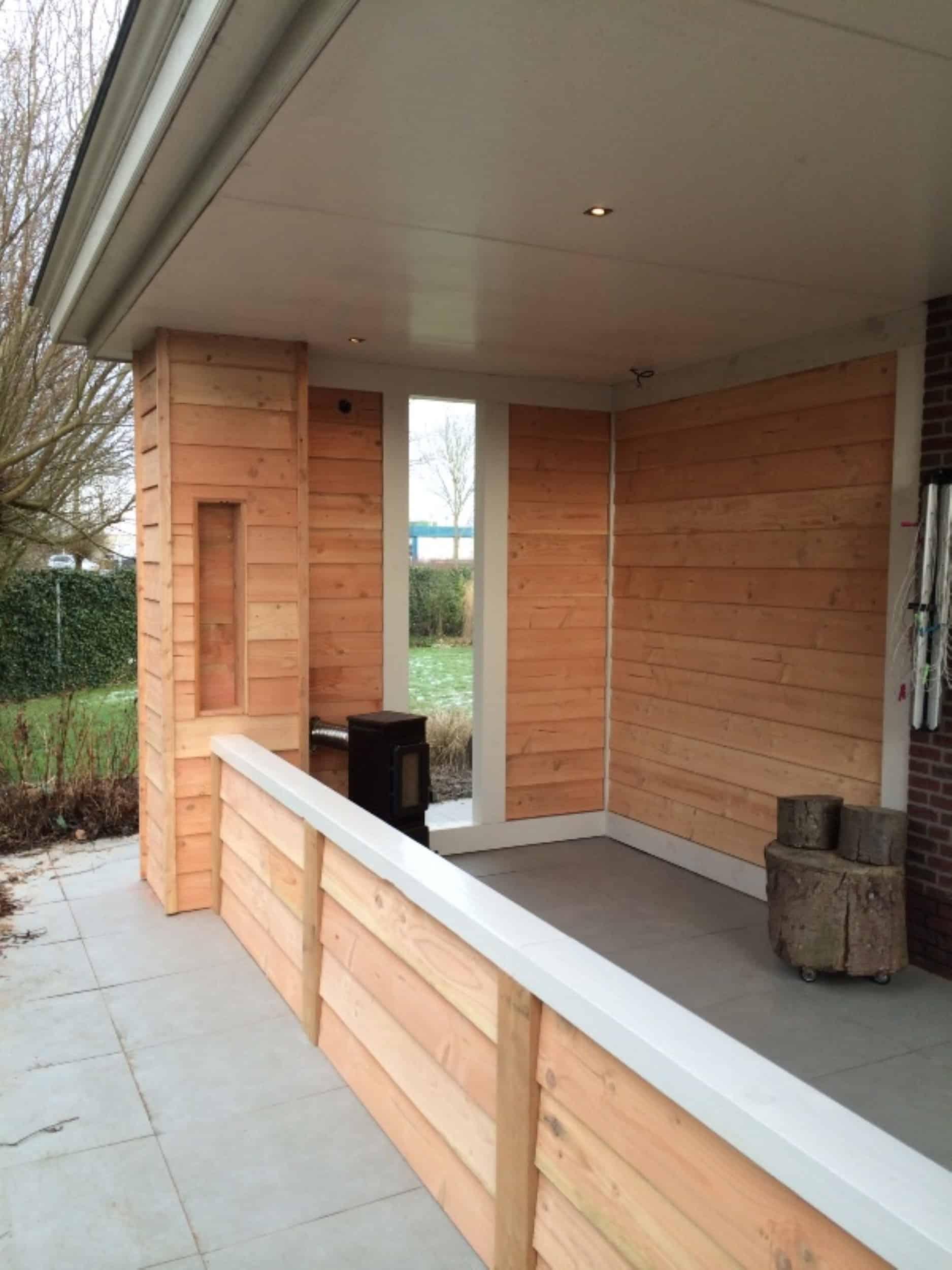 Lariks veranda uw verandaspecialist uw verandaspecialist - Interieur van een veranda ...