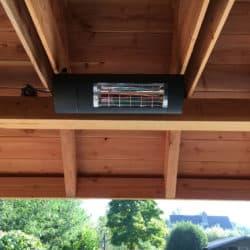 Infrarood heater dimbaar